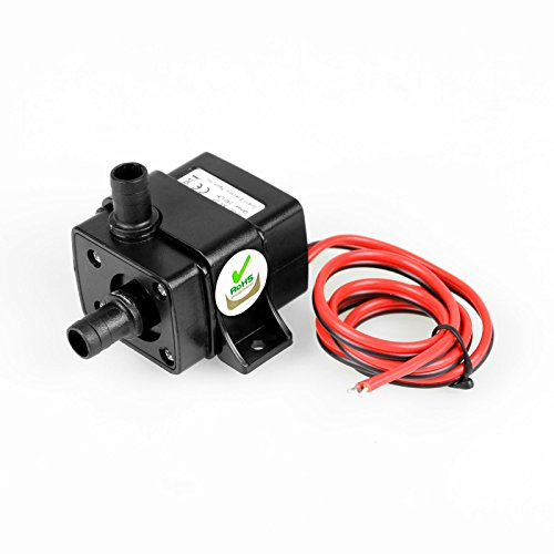 Integrated Circuits Active Components Dc 12v 240l/h 3m Ultra Quiet Brushless Motor Submersible Pool Water Pump Hydroponics Solar Attractive Appearance