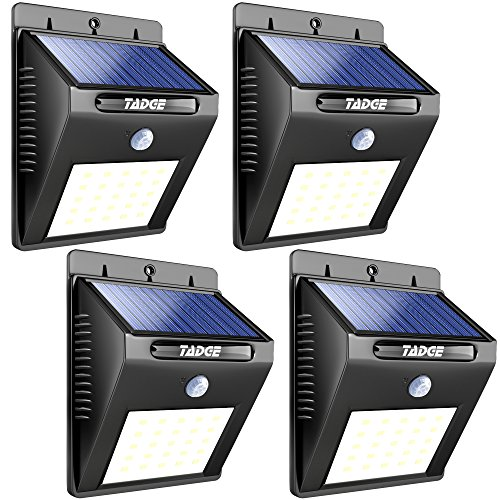 The Brightest Of Its Kind, With 25 Leds, Tadge Goods Solar Outdoor Patio  Deck Lights Are The Best Solar Powered Motion Sensor Lights On The Market.