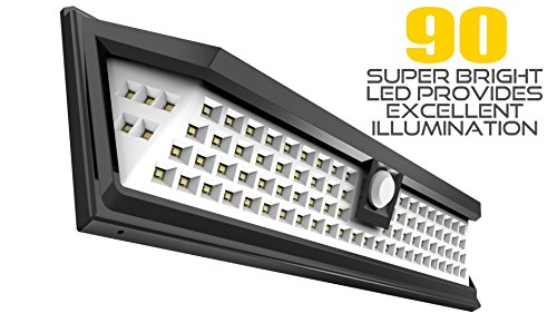 Litom solar lights outdoor 54 led super bright wide angle solar 22621 2g mozeypictures Choice Image
