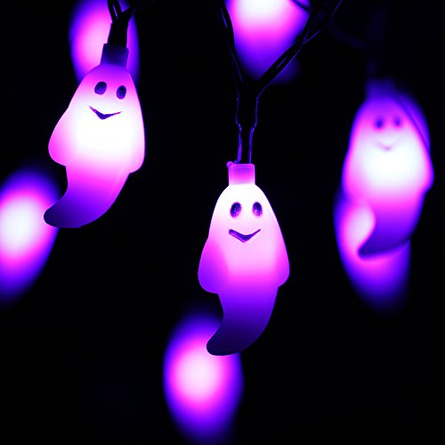20 Led 7 9ft Battery Operated Halloween String Lights For Halloween