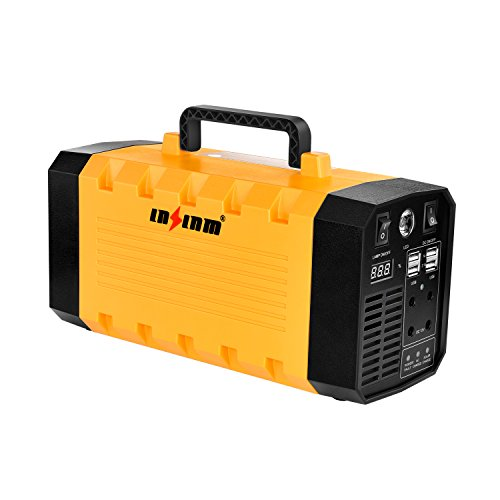 500W Portable Generator Battery Backup Power Supply, LNSLNM