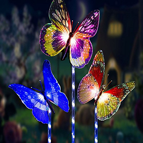 Metal Owl Led Decorative Garden Lights For Walkway Pathway