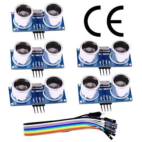 Gowoops 5PCS HC-SR501 Adjust Ir Pyroelectric Infrared PIR Humen