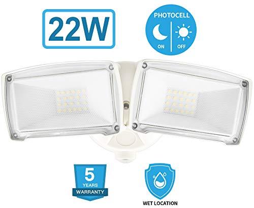 20w Led Security Light Motion Sensor Outdoor Ledmei Cree