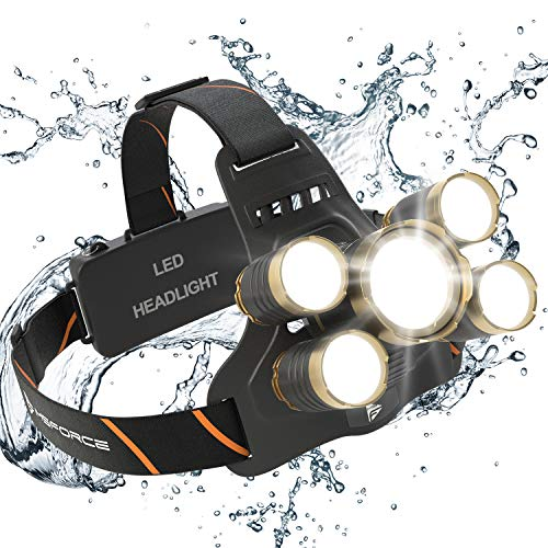 Msforce Led Headlamp Usb Rechargeable Batteries Included